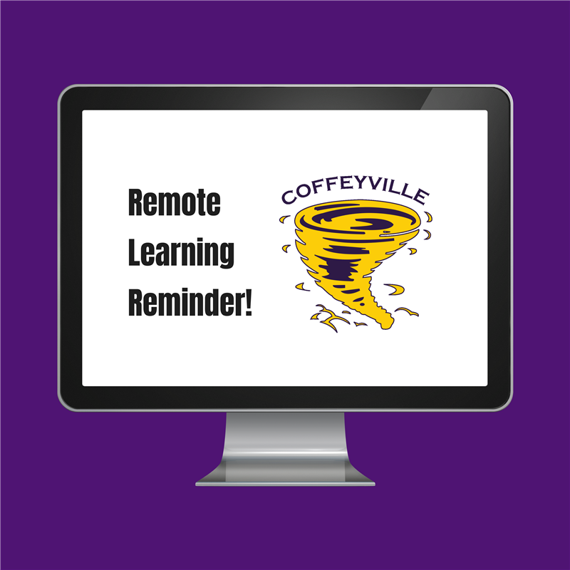 Remote Learning Reminder on November 30th- December 18th.