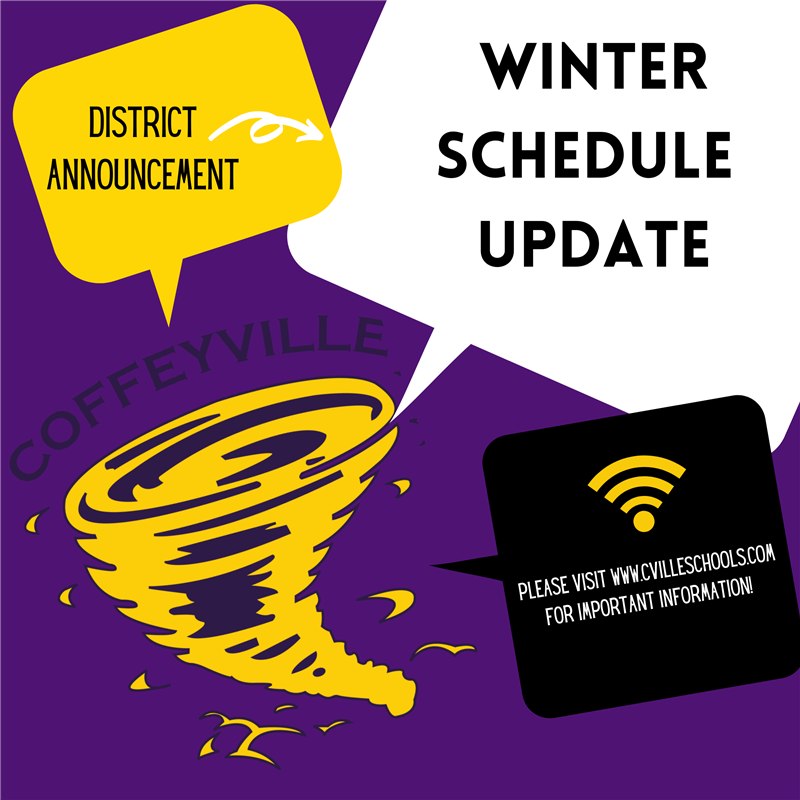 Click Here For The CPS Winter Schedule Update.