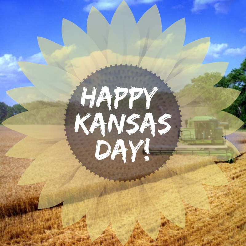 January 29th is Kansas Day!
