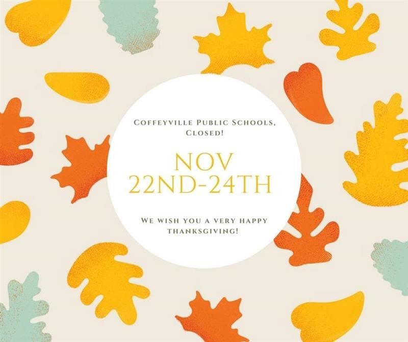 District Closed Nov 22-24 2017